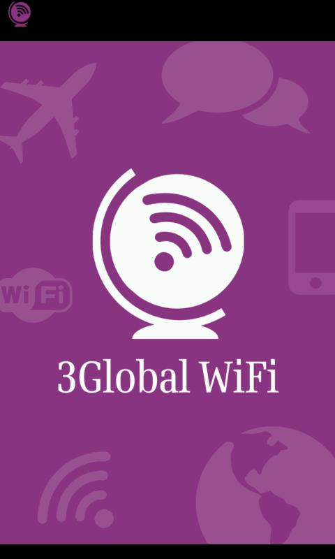 3Global WiFi - screenshot