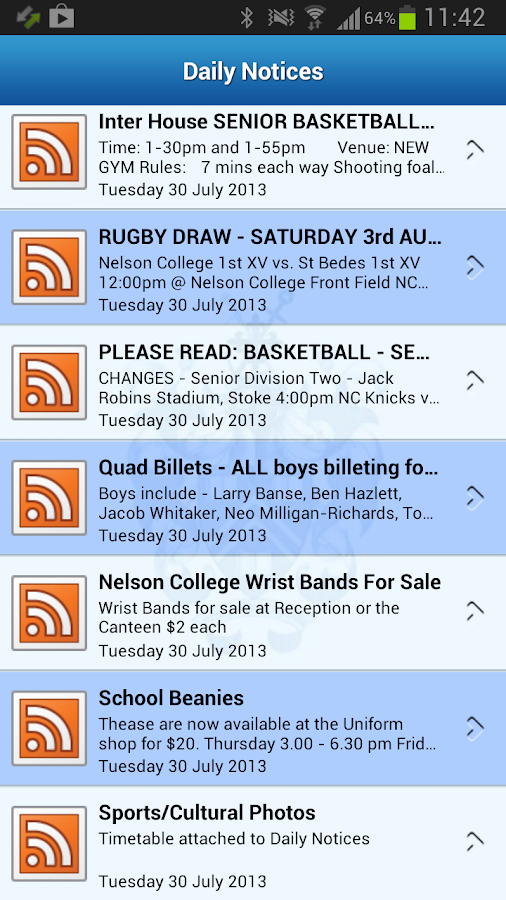 Nelson College New Zealand- screenshot