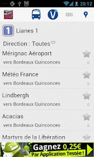 Transports Bordeaux - screenshot thumbnail