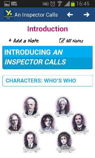 An Inspector Calls GCSE