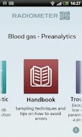 Screenshot of Blood gas - Preanalytics