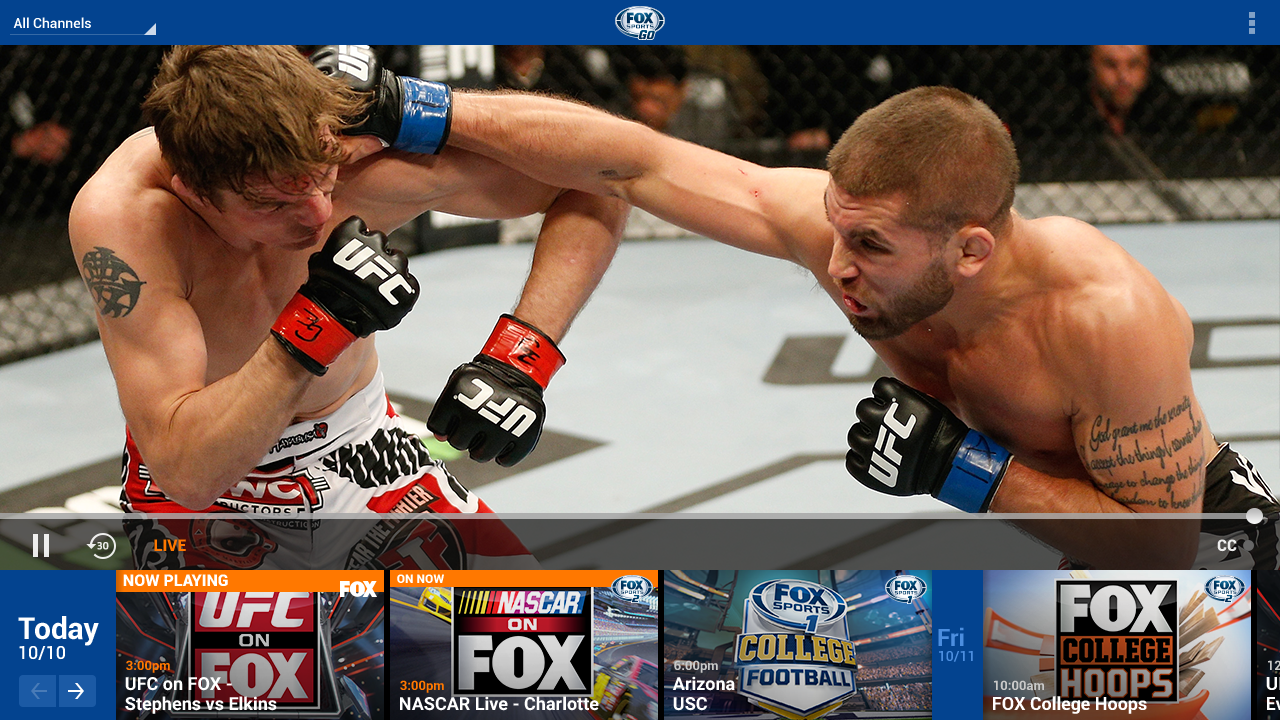 FOX Sports GO - screenshot