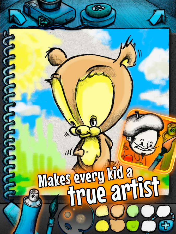 Young Rembrandt: Coloring Book- screenshot