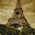 Tour Eiffel Rain Live Wallpape icon