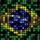 LED Brazil Flag Live Wallpaper