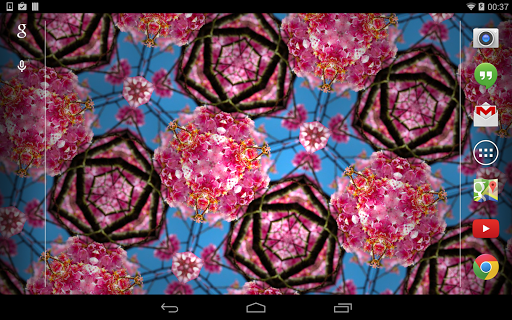 玩個人化App|Flashy Kaleidoscope LWP免費|APP試玩