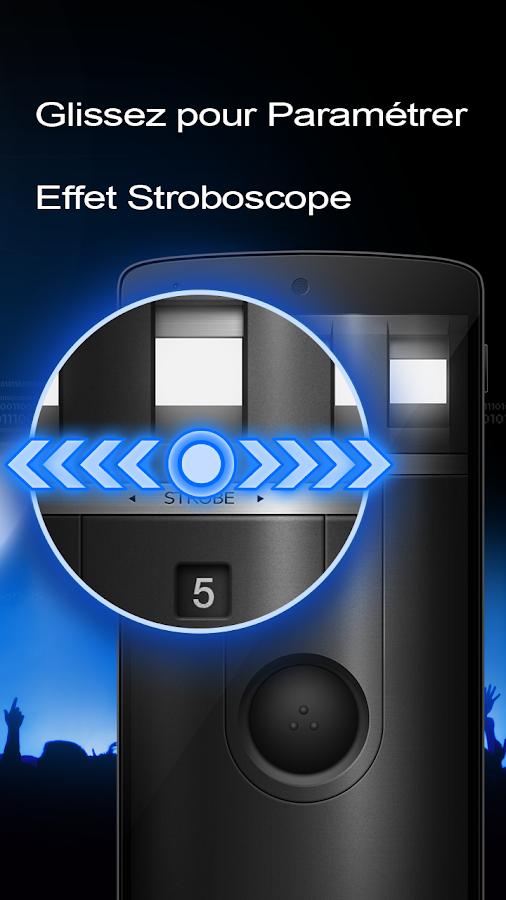 lampe torche flashlight applications android sur. Black Bedroom Furniture Sets. Home Design Ideas