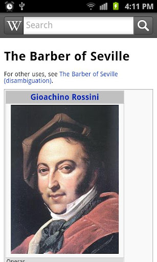 Rossini's Barber Opera 1 3