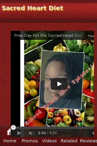 Sacred Heart Diet - screenshot