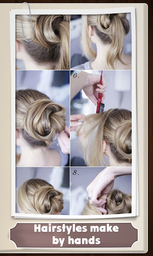 Hairstyles with their hands
