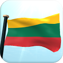 Lithuania Flag 3D Free icon