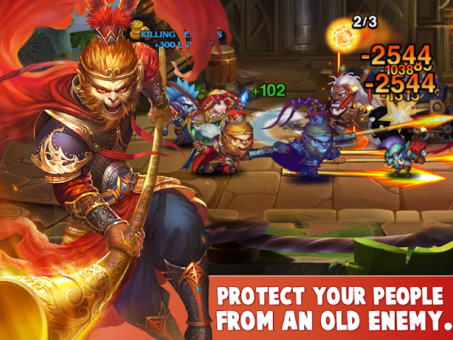 android Heroes Charge HD Screenshot 7