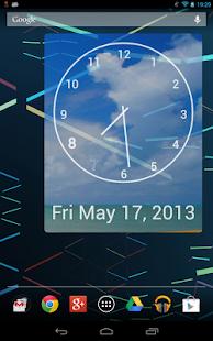 玩免費個人化APP|下載Uniq Clock (Widget) app不用錢|硬是要APP
