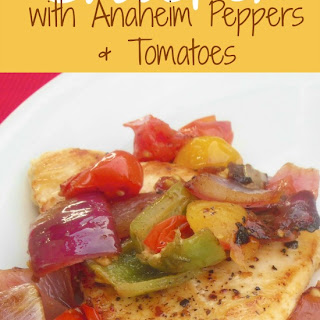 Chicken with Tomatoes and Peppers