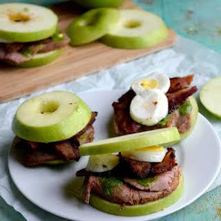 Roast Beef Apple Sandwiches.