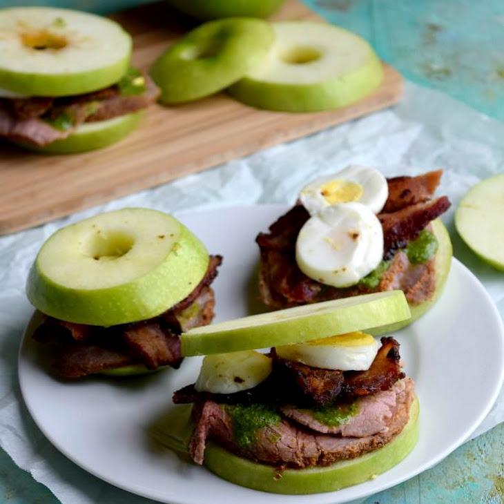 Roast Beef Apple Sandwiches
