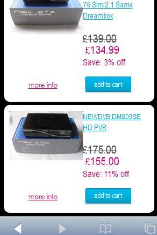 Dreamboxparts Online Shop
