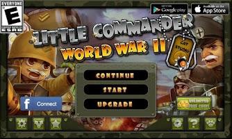 Screenshot of Little Commander - WWII TD