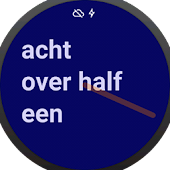 NL text Watch Face