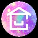 Cute home ♡ CocoPPa Launcher icon