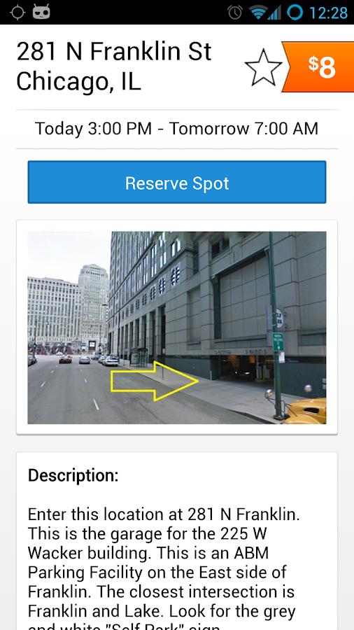 SpotHero - Parking Deals- screenshot