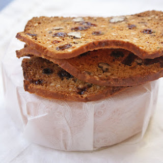 Rosemary Raisin Pecan Crisps