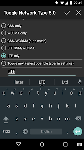Toggle Network Type 5.0 (root) Screenshot 8