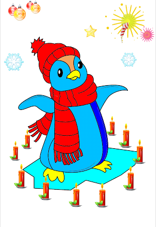 Coloring Christmas - Kids game 1.5 screenshot 513292