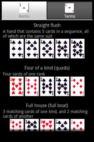 Poker 5 card draw cheat sheet