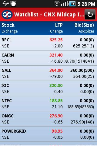 Kotak Stock Trader - screenshot