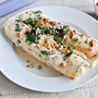 Thai Chicken Enchiladas.