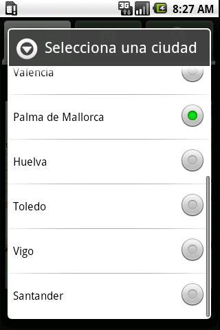 Traffic Cameras in Spain - screenshot