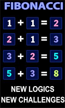 2048 Fibonacci Amazing Puzzle