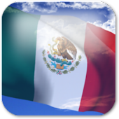 3D Mexico Flag Live Wallpaper+