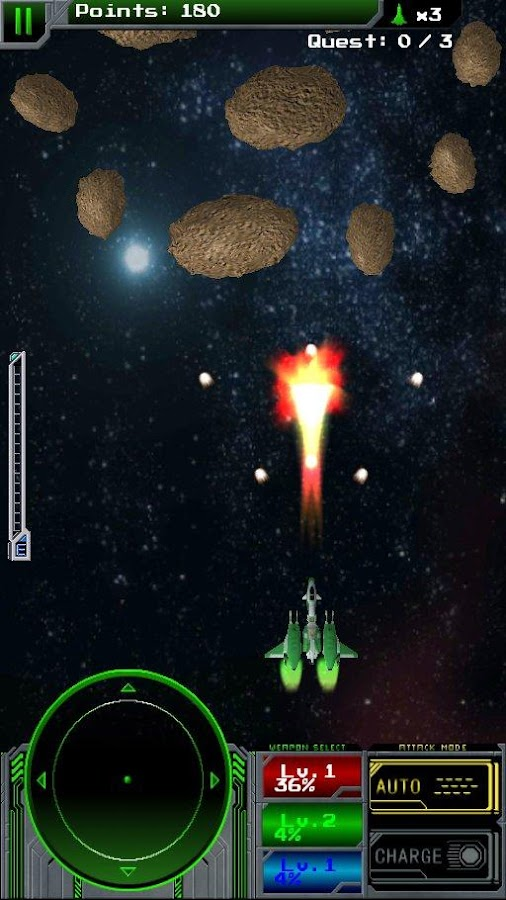 Battleray Starfighter Beta- screenshot