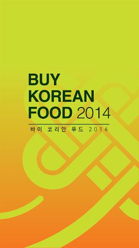 Buy Korean Food 2014
