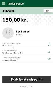 Jyske Mobilbank med Swipp- screenshot thumbnail