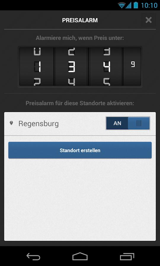 TankenApp von T-Online.de - screenshot