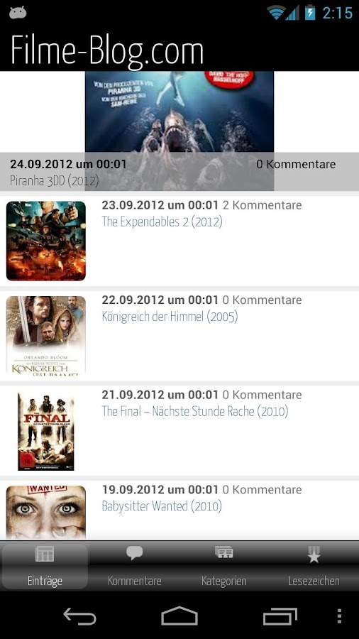 Filme-Blog.com- screenshot