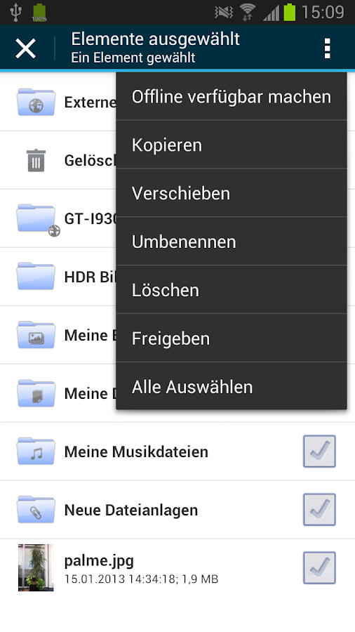 GMX MediaCenter - screenshot