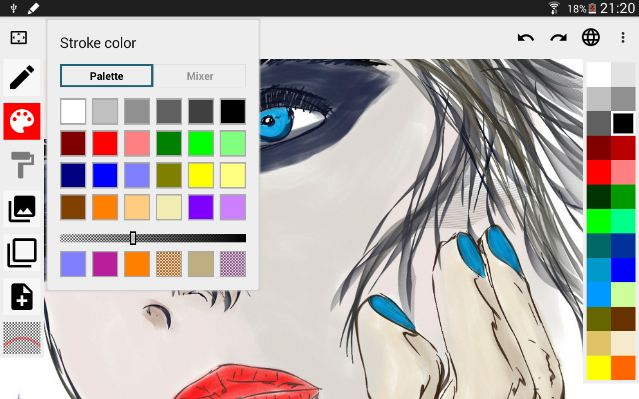 ScribMaster draw and paint- screenshot