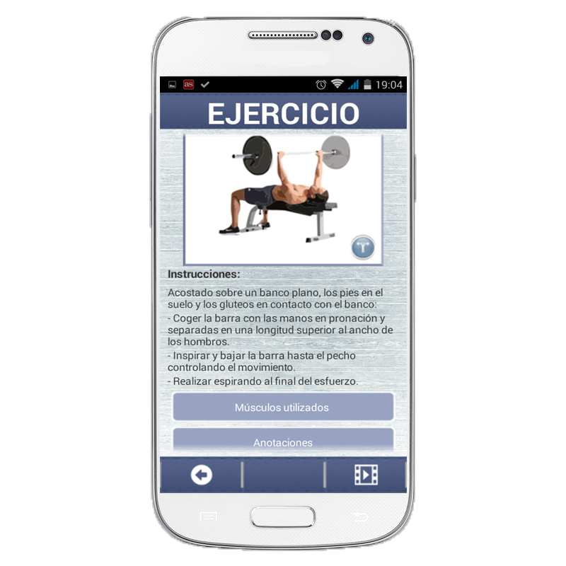 GymG Fitness PRO- screenshot
