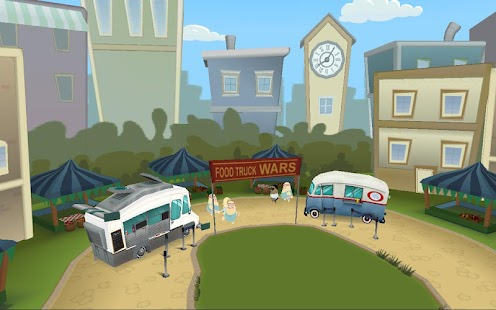 Order Up!! Food Truck Wars- screenshot thumbnail