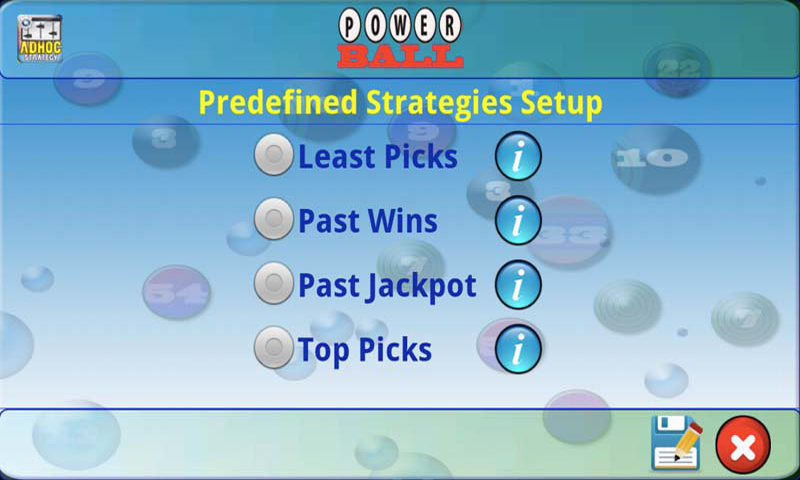 mLottoLuck Lotto Lottery LITE- screenshot