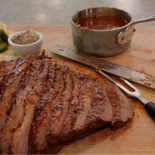 Barbecued Beef Brisket.