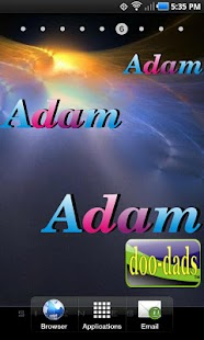Adam doo-dad - screenshot thumbnail