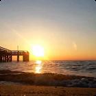 Sunset Ocean Live Wallpaper 5 icon