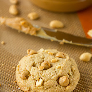 Chewy Chunky Peanut Butter Cookies.