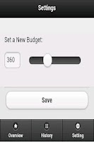 Screenshot of Weekly Budget Lite