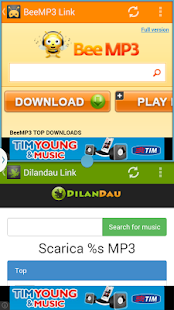 BeeMP3 Link - Musica gratis - screenshot thumbnail